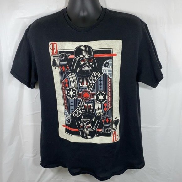 Star Wars Darth Vader Playing Card Tee